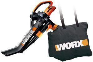 2. WORX WG505 3-in-1 Blower/Mulcher/Vacuum Push Lawn Sweeper