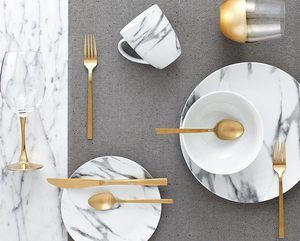 3. Dinnerset-16Pcs Coupe Marble