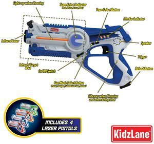 3. Kidzlane Infrared Laser TagGame Mega Pack