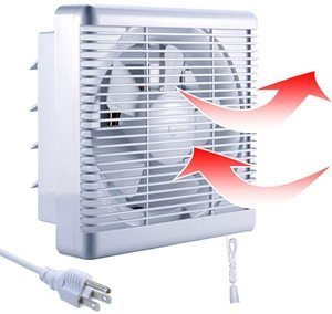3. SAILFLO 10 Inch Exhaust Shutter Fan
