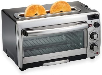 4. Hamilton Beach 2-in-1 Countertop Oven