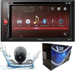 4. Pioneer AVH-210EX Double DIN Bluetooth Touch Screen Radios Receiver