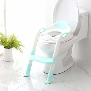 4. SKYROKU Potty Training Seat with Step Stool Ladder