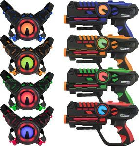 5. ArmoGear Infrared Laser Tag Blasters and Vests