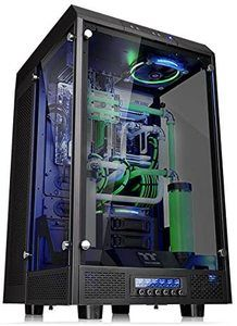 6. Thermaltake Tower 900 Black Edition E-ATX Tower Computer Chassis