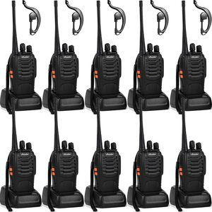 7. Ansoko Walkie Talkies Long Range Rechargeable 2 Way Radio