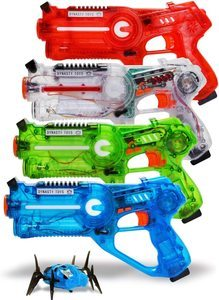 7. DYNASTY TOYS Family Laser Tag Set of 4