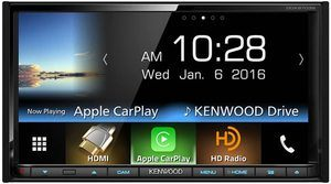 7. Kenwood DDX Double DIN Bluetooth Car Stereo Receiver
