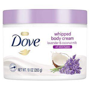 #8 Dove Coconut Milk and Whipped Lavender Body Cream 10 oz