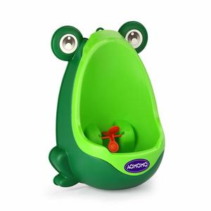 8. AOMOMO Frog Potty Training Urinal for Toddler