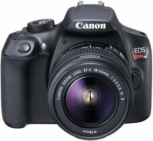 8. Canon EOS Rebel T6 Digital SLR Camera Kit