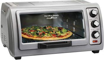 8. Hamilton Beach 6-Slice Countertop Toaster Oven