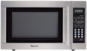8. Magic Chef MCD1311ST 1.3cf 1000W S-Steel Microwave