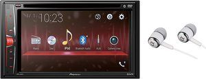 8. Pioneer Double DIN Bluetooth Digital Media Car Stereo Receiver