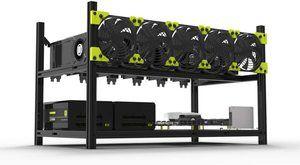 8. Veddha V3C 6-GPU Mining Case