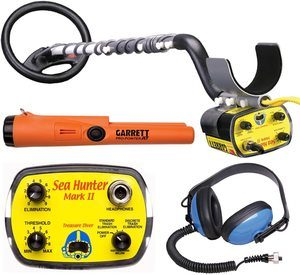 9. Garrett Sea Hunter Mark II w Underwater Garrett Pro Pointer AT