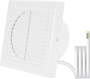 9. Hon&Guan 6-inch Home Ventilation Fan, Exhaust Fan Window