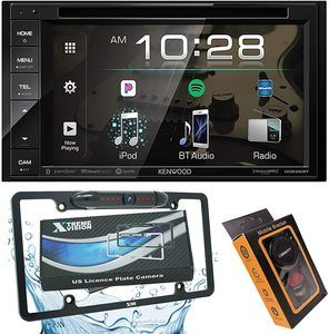 9. Kenwood DDX26BT Double DIN Bluetooth Car Stereo Receiver