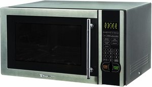 9. Magic Chef MCM1110ST 1.1 Cu. Ft. Countertop Microwave Oven