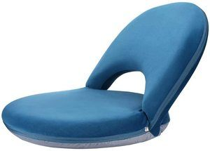 10. NNEWVANTE Back Support Chair, Navy