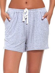 10. WOAIVOOU Pieces Women Casual Sleep Shorts