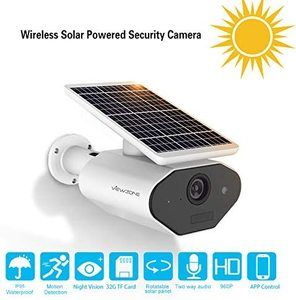 11. ViewZone Solar Powered Security Camera L4