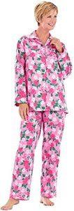 13. Floral Flannel Pajamas