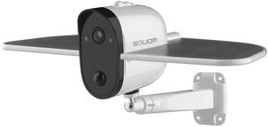 4. SOLIOM S60 Outdoor Solar Battery Powered Security Camera