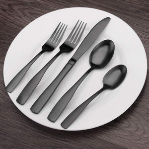 5. Bysta 20-Piece Stainless Steel Flatware Set