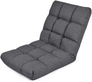 5. Giantex Adjustable Floor Gaming Sofa Chair (Dark Grey)