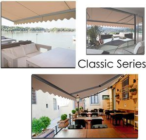 6. ADVANING MA1310-A208H Classic Series, Retractable Patio Awning