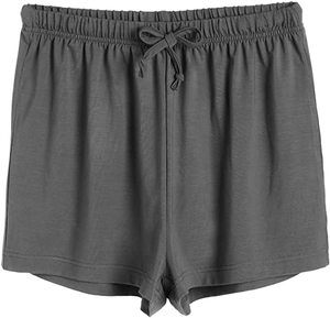 6. Latuza Women's Boxer Shorts Pajama Bottoms