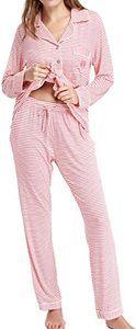 6. N NORA TWIPS Pajamas Set with Long Sleeve