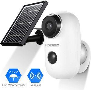 6. Solar Powered IP Camera Outdoor 1080P HD6. Solar Powered IP Camera Outdoor 1080P HD