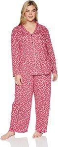 7. Karen Neuburger Women's Long-Sleeve Pajama Set Pj