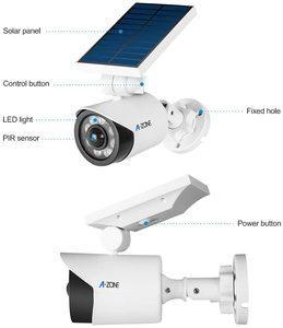 7. Solar Motion Sensor Light Outdoor 5W Solar Lights Outdoor IP66 Waterproof