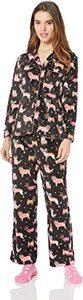 8. Karen Neuburger Women's Long Sleeve Pajama Set