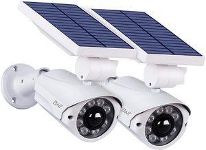 8. Outdoor Solar Lights 2Pack -BNT Flood Lights