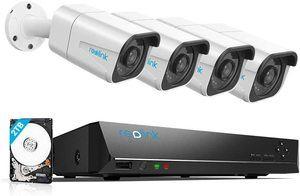 9. Reolink 4K PoE Security Camera System