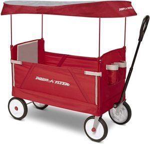 1. Radio Flyer 3-In-1 Ez Folding Wagon