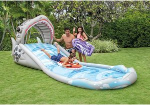 1. ntex Surf 'N Slide Inflatable Play Center