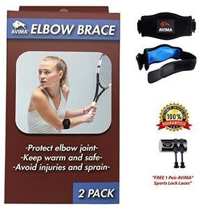 10. AVIMA Best Quality Elbow Brace
