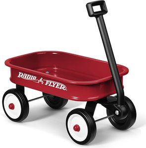 10. Radio Flyer Little Red Toy Wagon