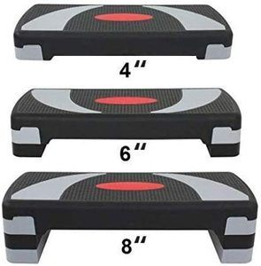 2. HomGarden 3 Adjustable Workout Aerobic Stepper