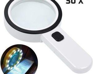2. Magnifying Glass with Light