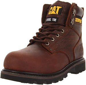 3. Caterpillar Men's Second Shift Steel Toe Work Boot