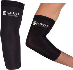 3. Copper Compression Elbow Sleeves