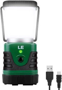 4. LE LED Camping Lantern Rechargeable