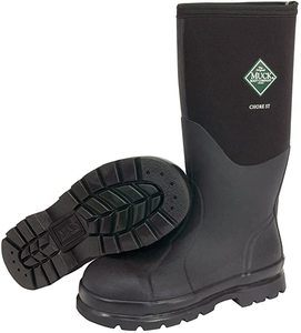 4. Muck Chore Classic Tall Steel Toe Men's Rubber Work Boots