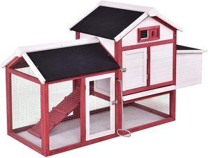 4. Tangkula 6 Bunny Outdoor Animal Cage